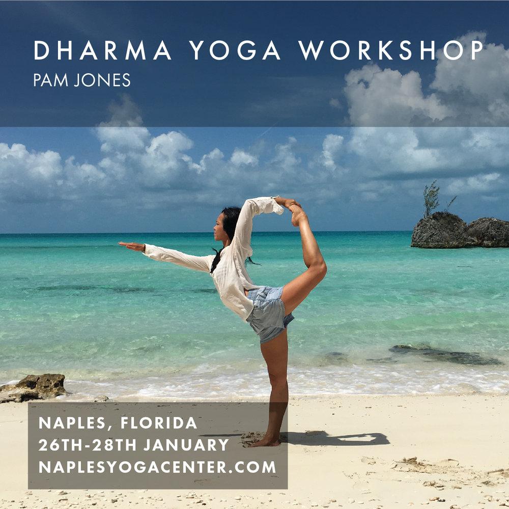 Fri 26th - Sun 28th Jan 2018 Naples, Florida    Naples Yoga Center