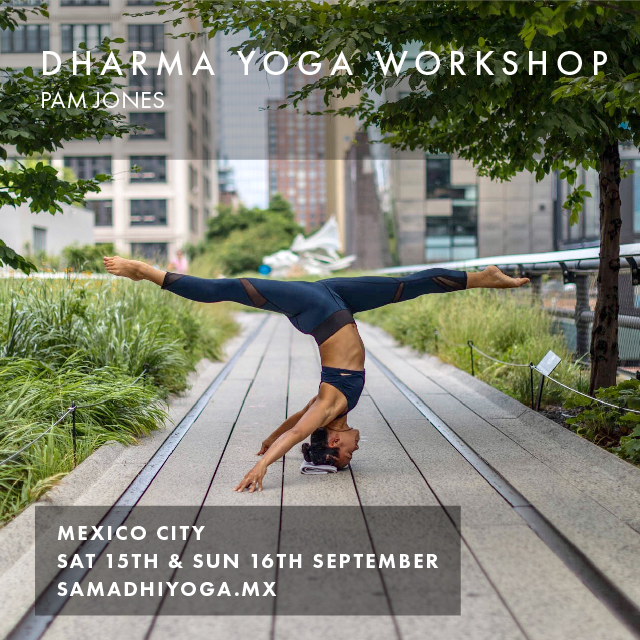 Date: Sat 15th & Sun 16th September 2018 Location: Mexico City To register:    samadhiyoga.mx