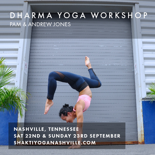 Date: Sat 22nd & Sun 23rd September 2018 Location: Nashville, Tennessee   To register:    shaktiyoganashville.com
