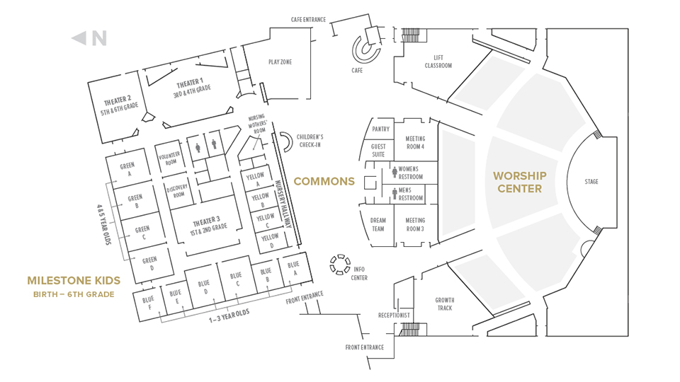 Milestone Church | Campus Map