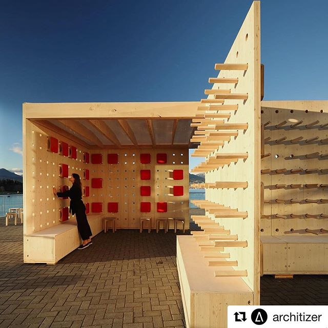 Thank you to @architizer for featuring PAUSE as the #ProjectOfTheDay. PC: @emaphotographi #Repost @architizer ・・・ Our #ProjectOfTheDay is TED PAUSE by DBR | Design Build Research/ The pavilion, set as a temporary installation for the TED2017 Conference in Vancouver, was designed by Alsu Sadrieva, a student of the TIArch Studio at the Kazan State University of Architecture and Engineering/ Discover the full project on Architizer.com . . . . @also_alsu @designbuildresearch @tiarch @mgarchitecture #ted2017 #tedconference #tedpause #designbuildresearch #vancouver #canada #tiarchstudio#emapeter #emaphotographi #vancouver