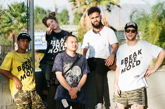 Last day to cop your Break The Mold tees at 10% off!! Don't sleep! Special hand deliveries for Bay Area orders from @alexkat0 himself 💙 - 🎞 @ryanvettel