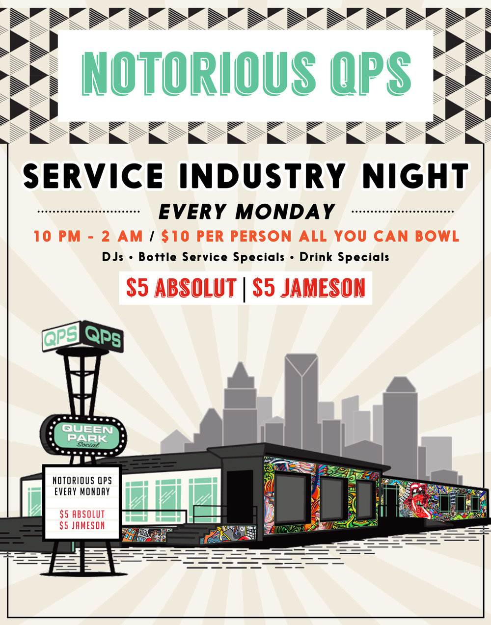 charlotte service industry night