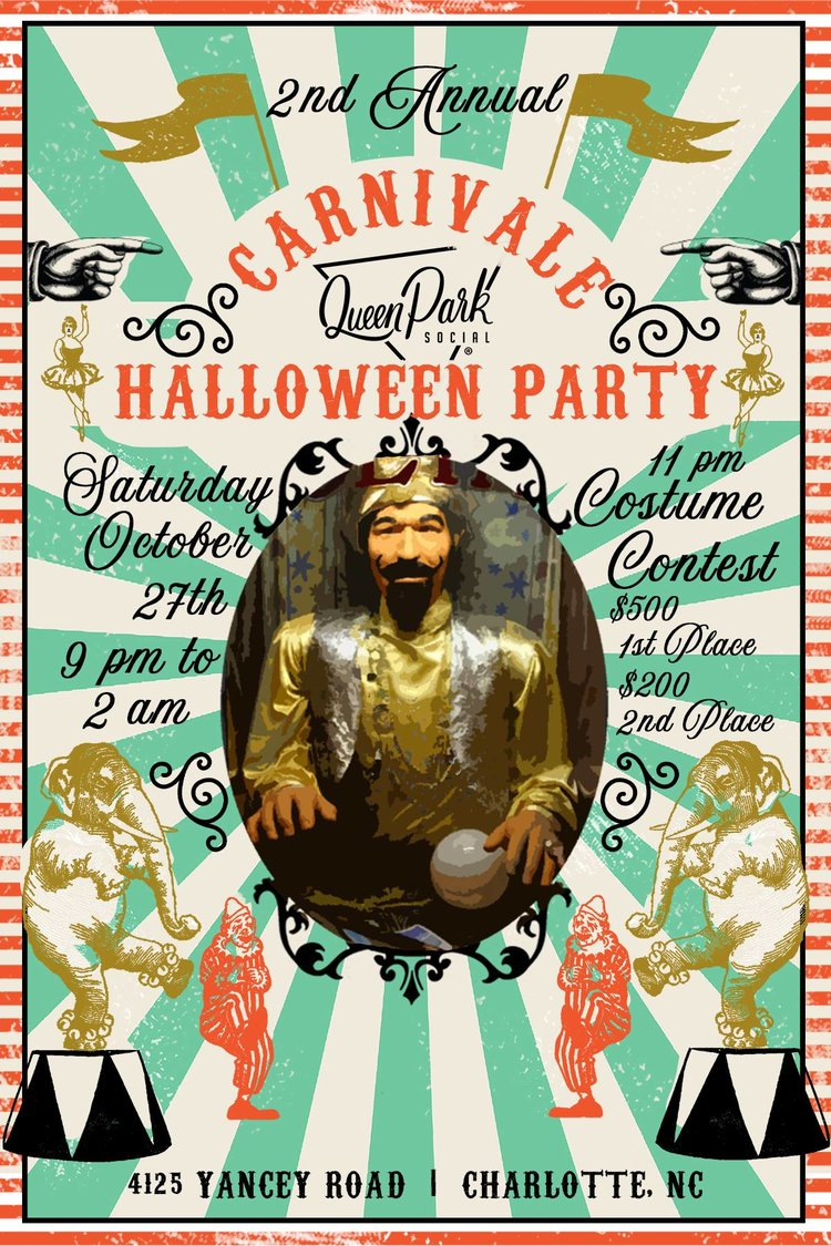 2nd annual carnivàle halloween party — queen park social