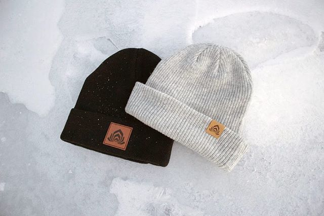 "Our new winter merch has arrived!. . Black acrylic and light grey merino wool toques variants with leather patches - as well as the new ""Sub Chakra SUBscription Card"" for guaranteed access to all our events - See site for details, link in bio . Bundle deals and up to 50% discount available on nearly everything in our collection. Happy holidays! #supportlocal #subchakra"
