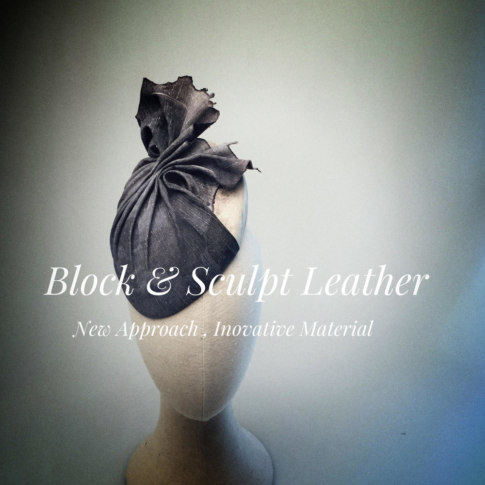 Block & Sculpt Leather - New Approach, Innovative Material