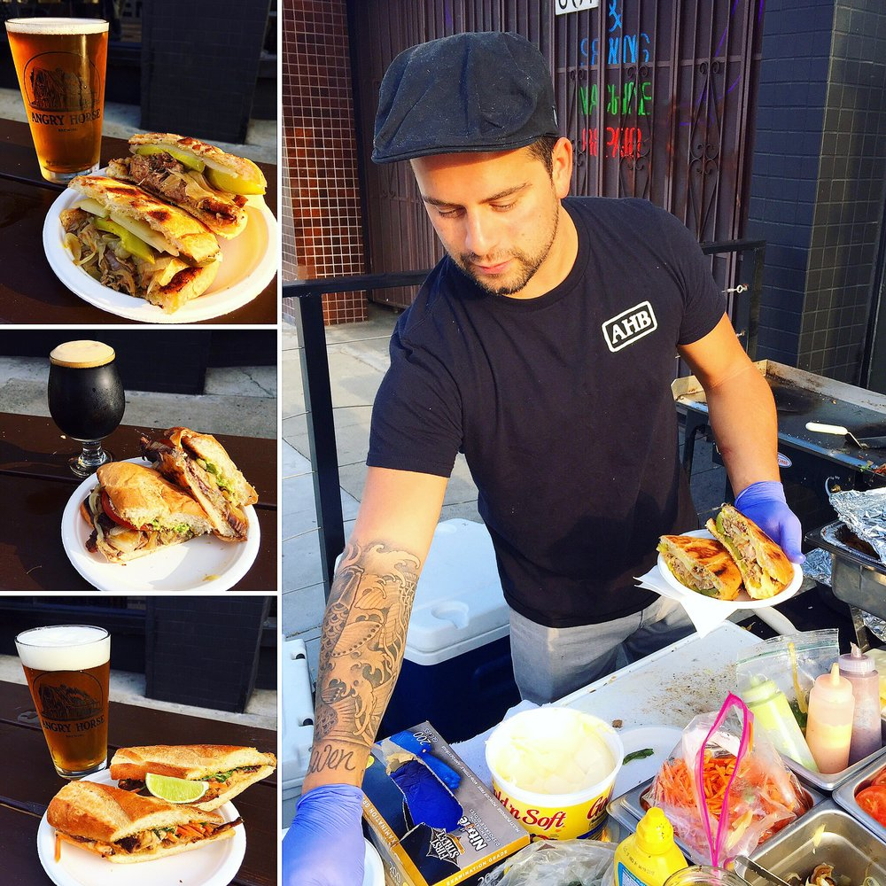 Chef Steven's Memorial Day Pop Up - Beer Infused Sandwiches