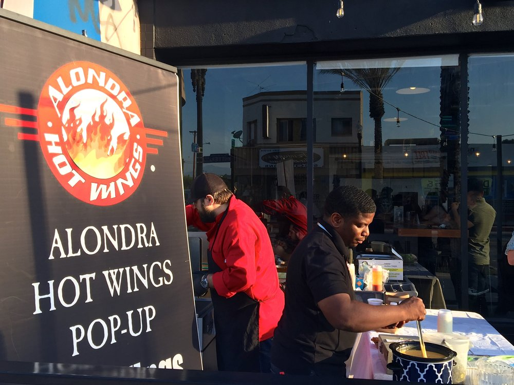 Alondra's How Wings on site