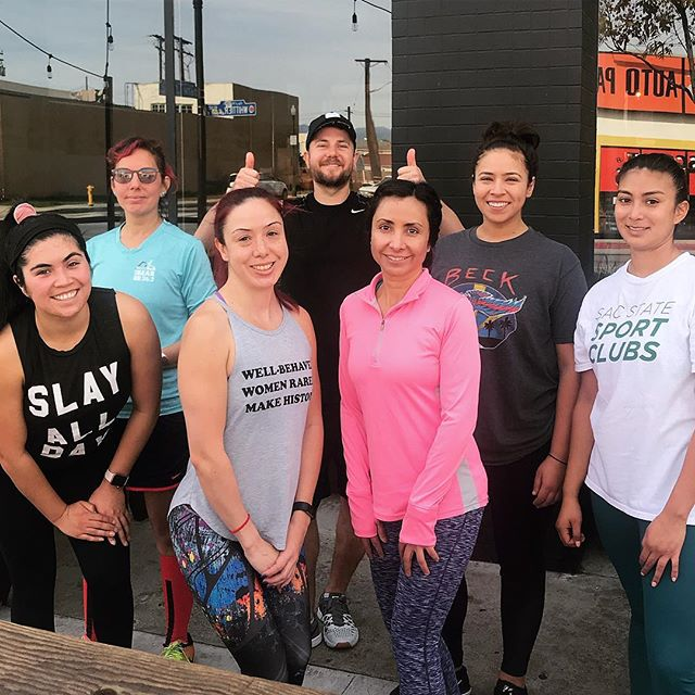 Our boot camp class this past Sunday was awesome. Kristen (@thequeen637 ) had us working hard, and let's be honest, who doesn't feel like a rock star lifting a keg over their head 😉 Catch the next one on Saturday, Feb 9th. #ahbfitnessclub