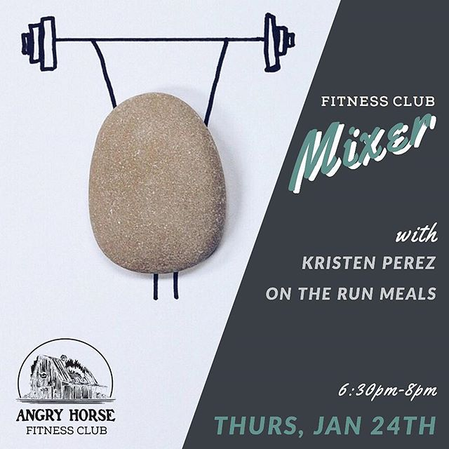We're hosting our first Fitness Club Mixer this Thursday, Jan 24th at 6:30pm. We'll have two special guests. Kristen Perez (@thequeen637 ) leads our boot camp class and is a bikini pro & competition health coach. She believes that fitness should be a lifestyle, one the makes you the best version of yourself while still enjoying the things you love. @ontherun_meals will also be there with samples! They create fresh, healthy meals that help keep you on track to your fitness goals. We're also offering interested fitness club members $1 off your first two pints. Leave us a comment with what you're interested in learning about! #ahbfitnessclub