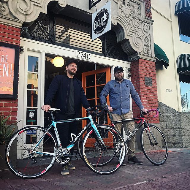 These guys are so ready for our 1st brewery bike ride on Saturday 1/26! Ride starts at 12:30pm at @angryhorsebrewing and we'll hit @pacificplatebrewery and @progressbrewing . Check out all the details in the link in our bio and don't forget to sign up. We'll also be talking about it at our fitness club mixer on Thursday at 6:30pm. Come check it out!