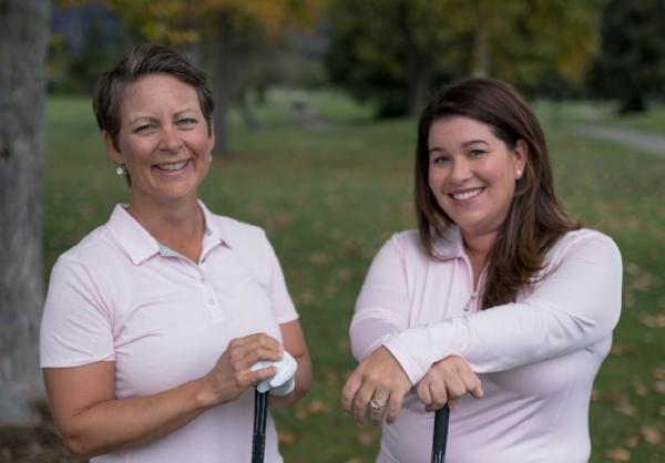 Rebecka Heinmert & Jessica Reese Quayle, LPGA Professionals.