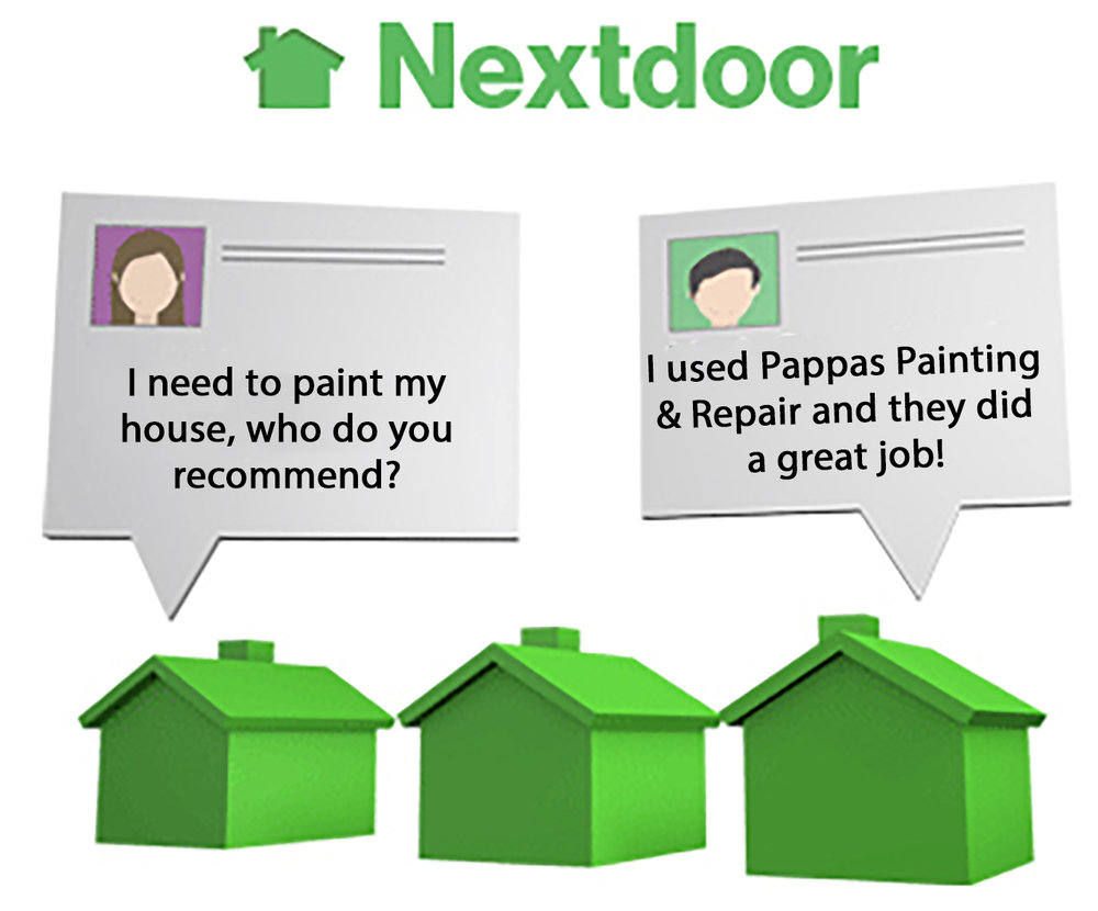 Recommend us on Nextdoor