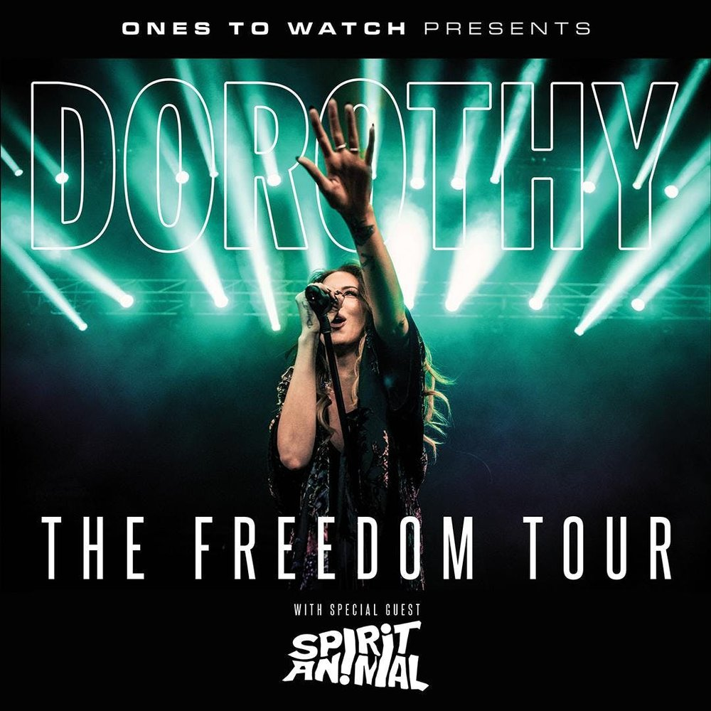 "Dorothy ""The Freedom Tour"""