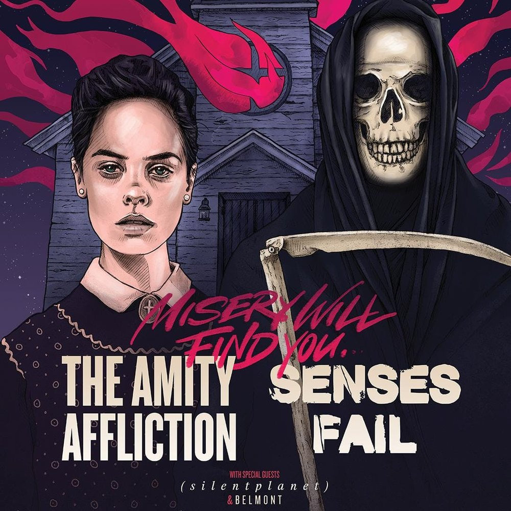 The Amity Affliction / Senses Fail