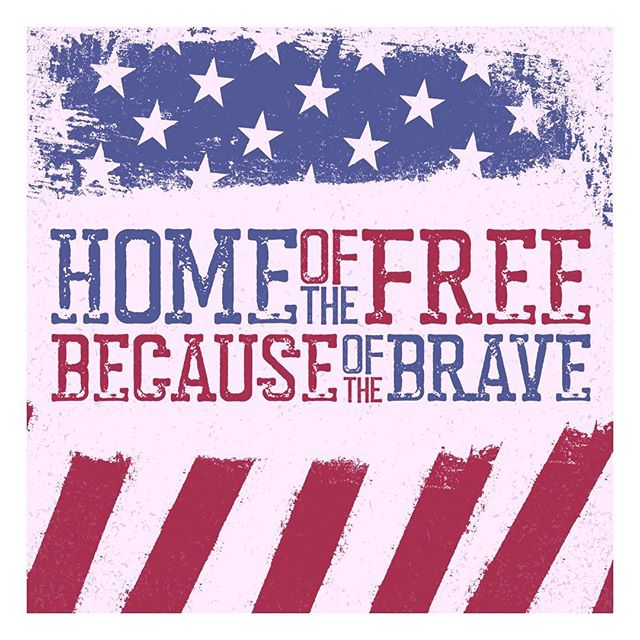 Happy 4th of July! Thank you to all of our veterans, service men and women for all that they do to keep our freedoms alive. We could not be more proud to be apart of such a country where we can express ourselves ☺️