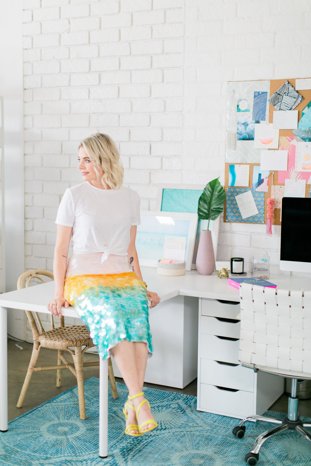 Studio Conversation:  Britt Rohr of Swell Press Paper - Photographed by Courtney Ray