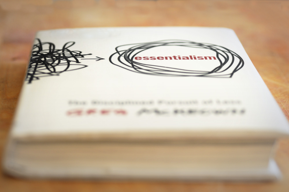Check out Greg McKeown's book:  Essentialism. The Disciplined Pursuit of Less