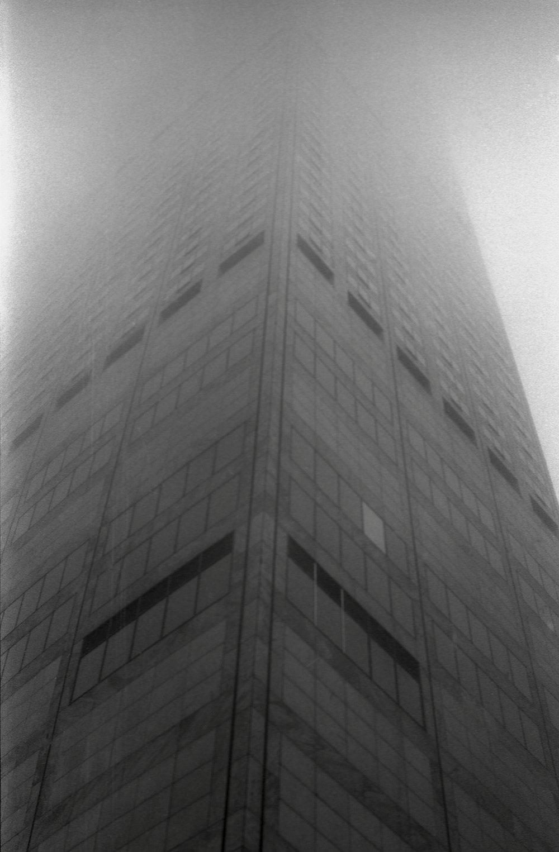 Monolith in Fog