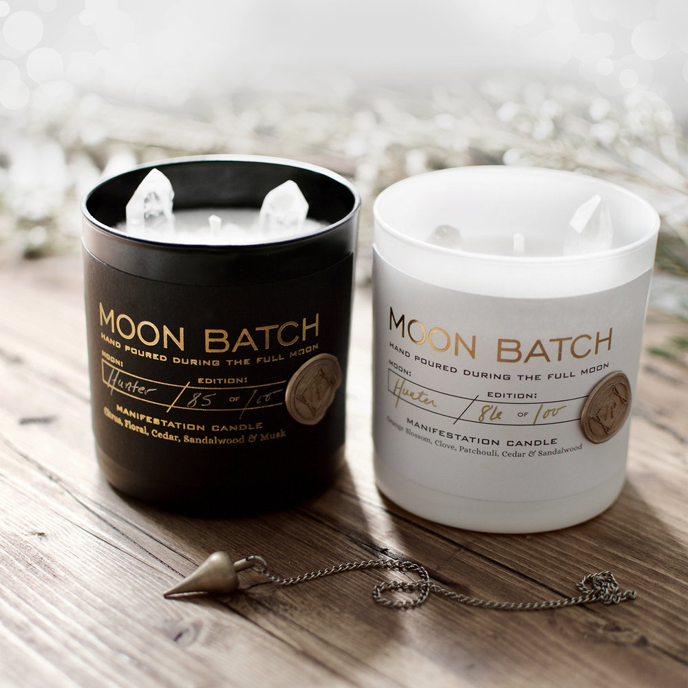 MOON BATCH CANDLES -