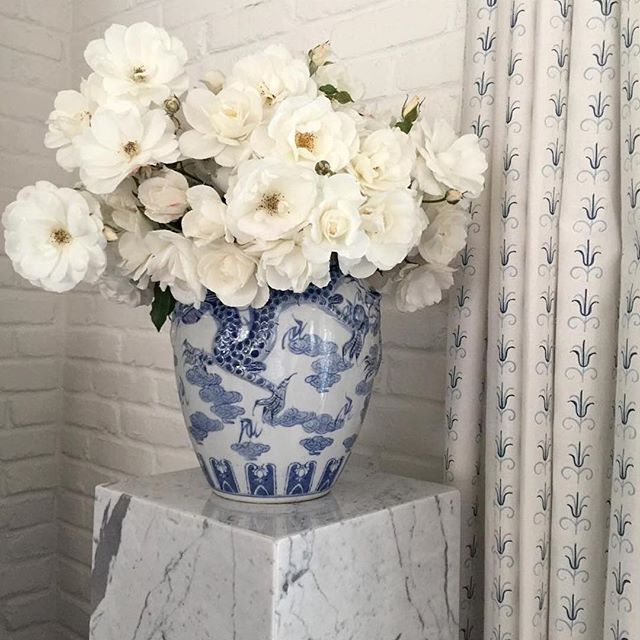@amymeierdesign Garden bounty #blueandwhite @mallyskok #amymeierdesign