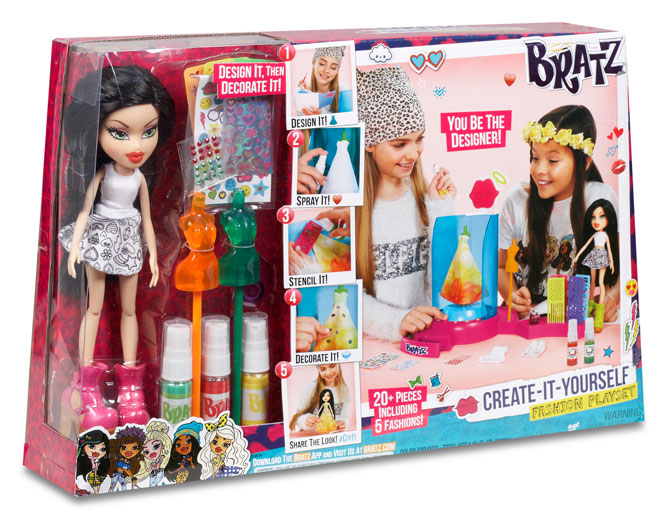 Create-It-Yourself Fashion Playset (with Jade)