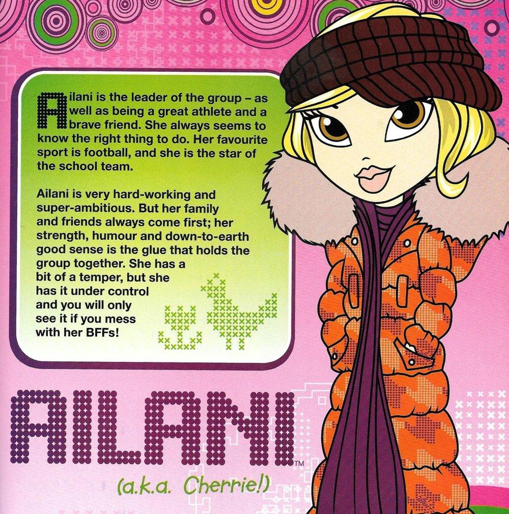 Ailani's profile in  Lil' Bratz Annual 2009 .