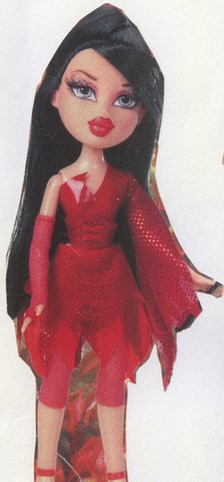 A prototype of Bratz Costume Party Ashley.