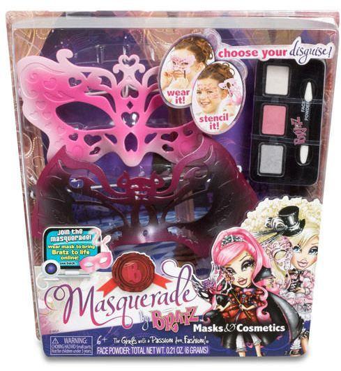 Masquerade Masks and Cosmetics (Kirana and Brielle)