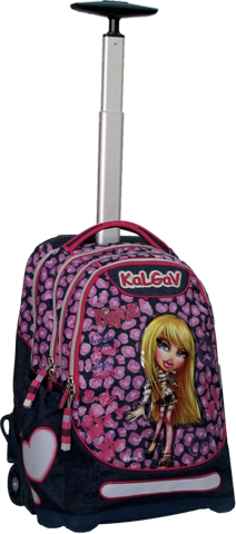10th Anniversary KalGav Rolling Backpack (Cloe)