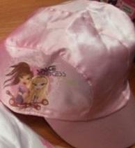 Space Princess Cap (Sasha and Cloe) (Light Pink)