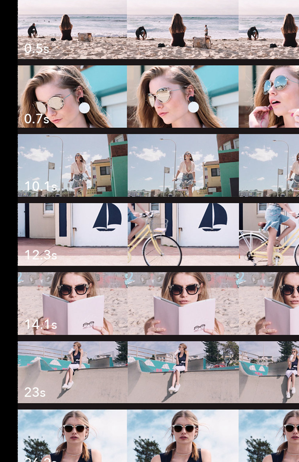 Sunglass Hut. - Shades of summer.