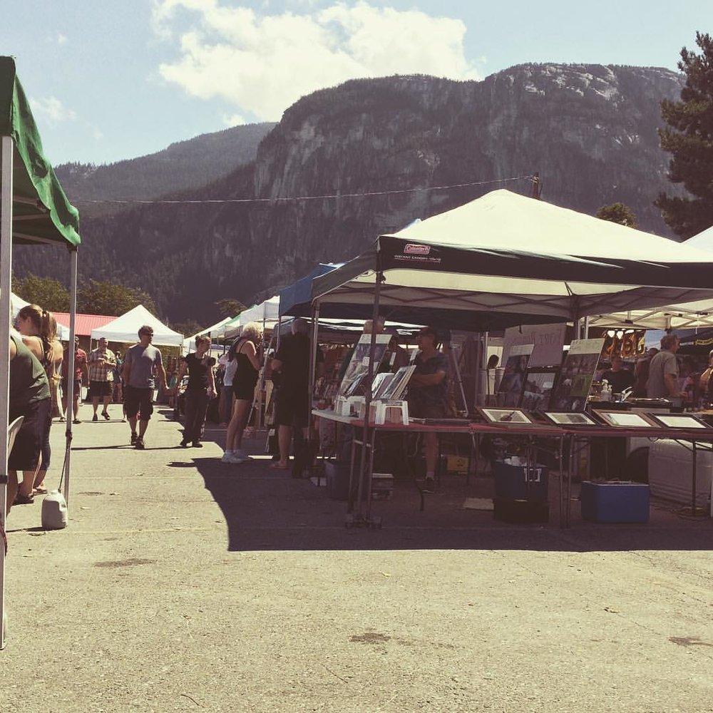 Summer Days at Squamish Farmers Market