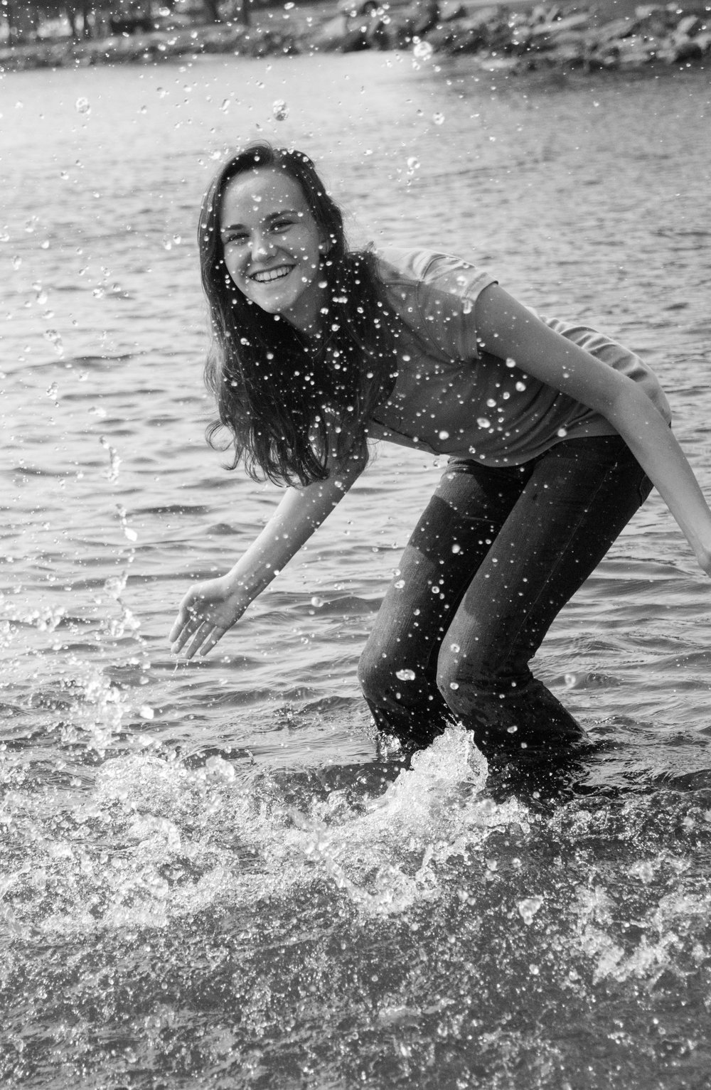 Fun Wisconsin Senior Photo