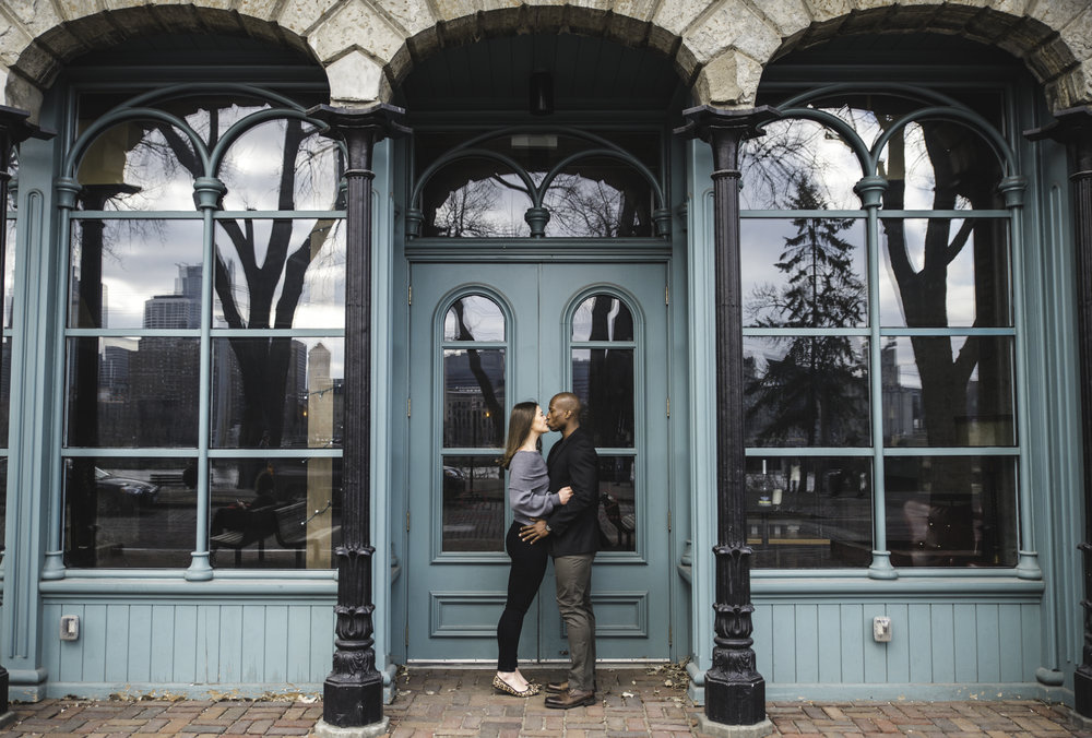 St. Anthony Main spring engagement