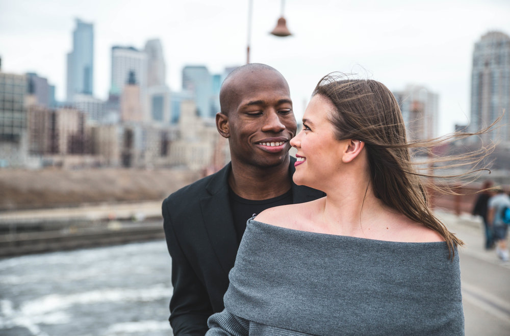 stone arch bridge engagement
