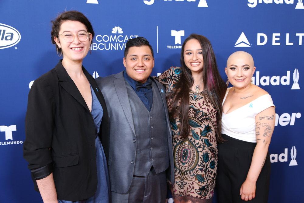 Shayna Maci Warner, Gio Bravo, Jazz Jennings, Leah Juliett