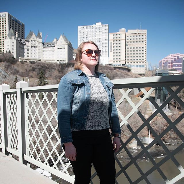 """""""The River Valley is my favourite place in Edmonton because when things get hectic as things do, its great to take refuge in the peaceful river valley. The River Valley gives me a space to clear my head, heart and lungs and I believe it has restorative powers."""""""