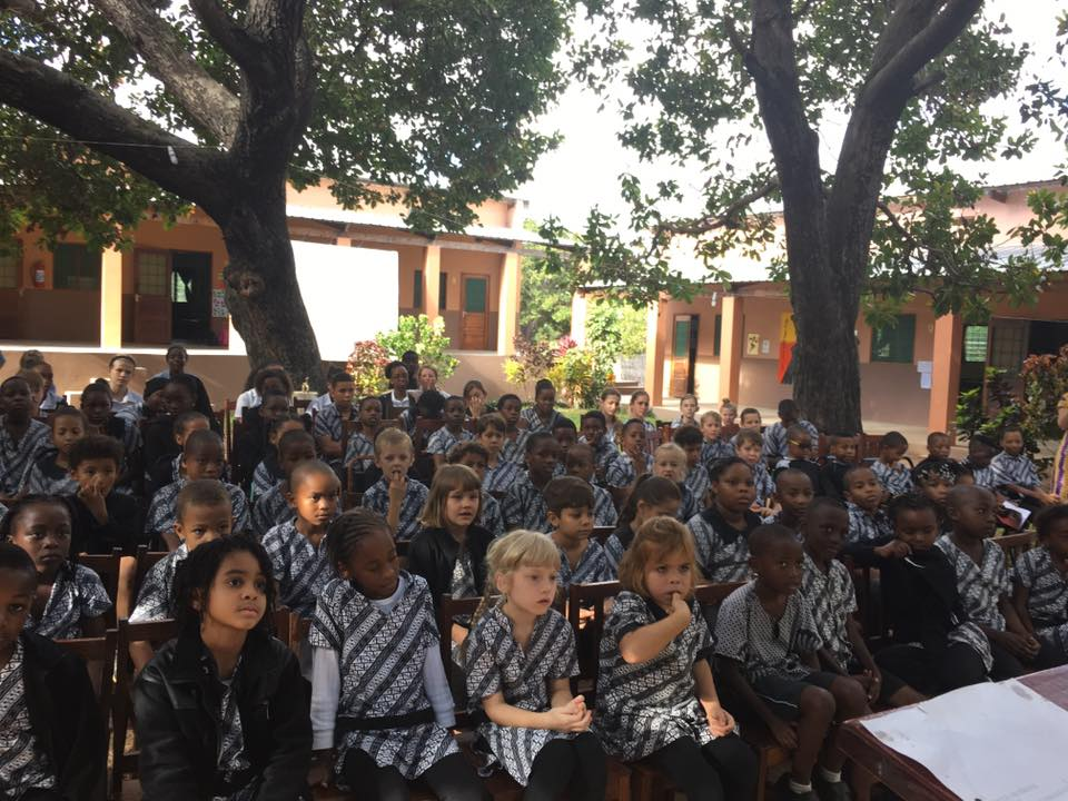 Students at Rapale International School
