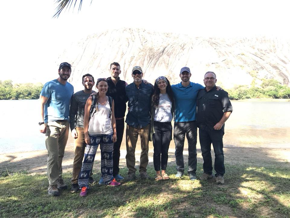 Members of the most recent team Confluence Southeast sent to Mozambique: (L-R) Will Dean, Michael Mowrey, Jessica Vincent, Aaron Vincent, Jase Dean, Anna Kathryn Dean, Tom Jenkins, and John Privett