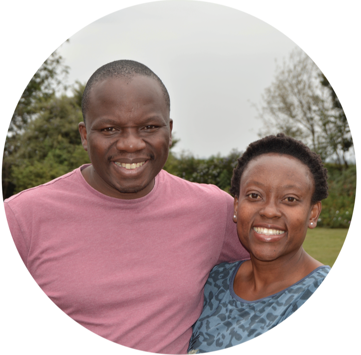 "Mbonisi ""Bones"" and Tash Malaba of OneTribe Church in Nairobi"