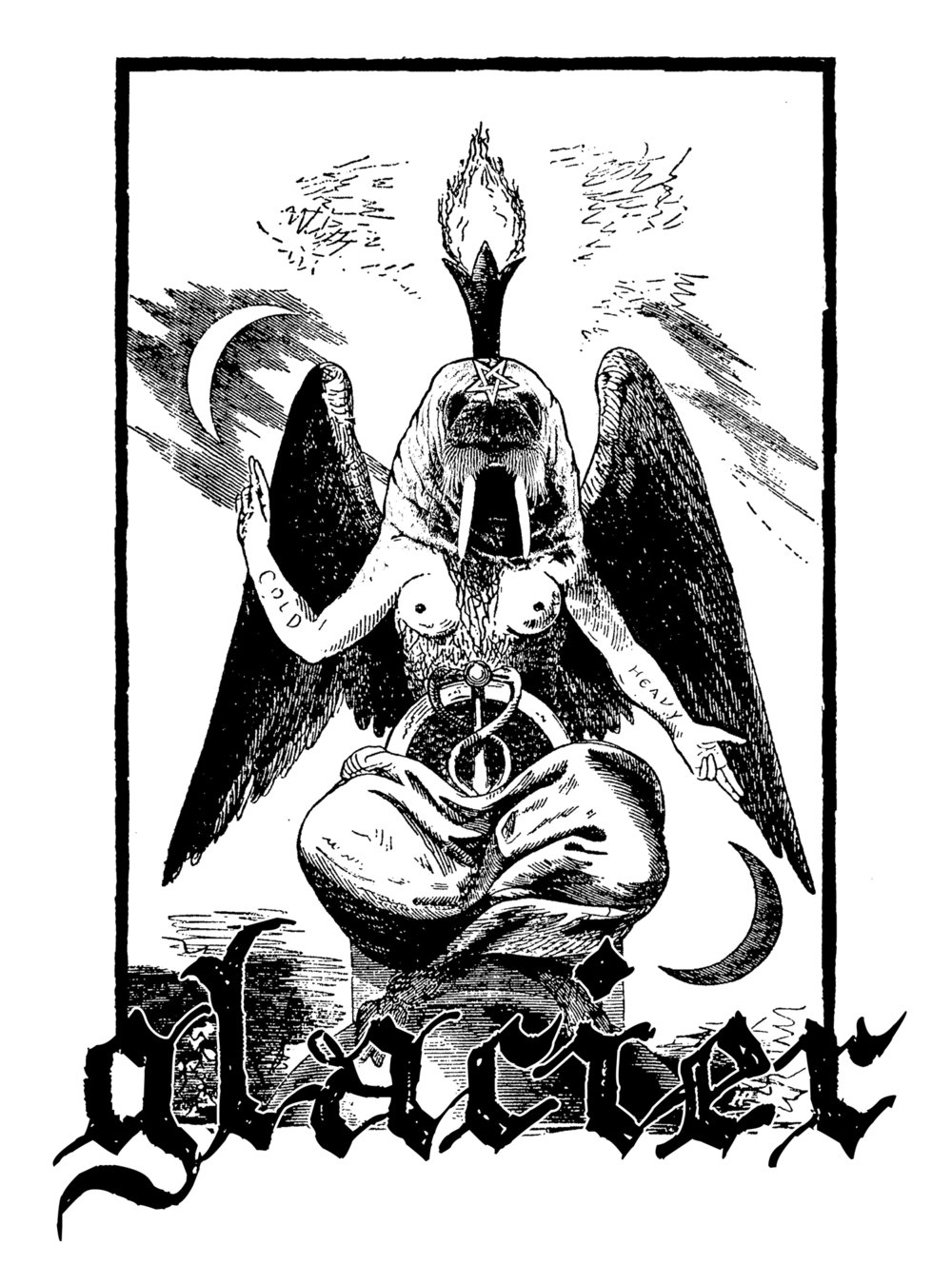 Shirt design for my band, Glacier.
