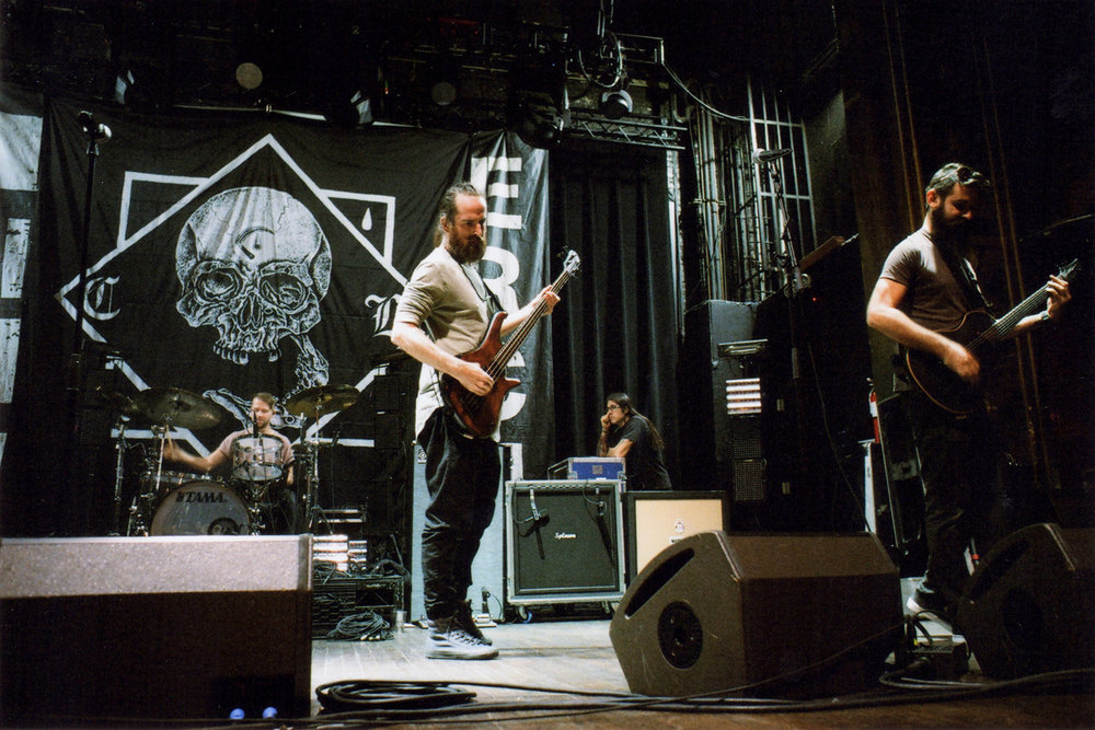 The Dillinger Escape Plan soundcheck. Webster Hall - New York, NY. 10/15/16