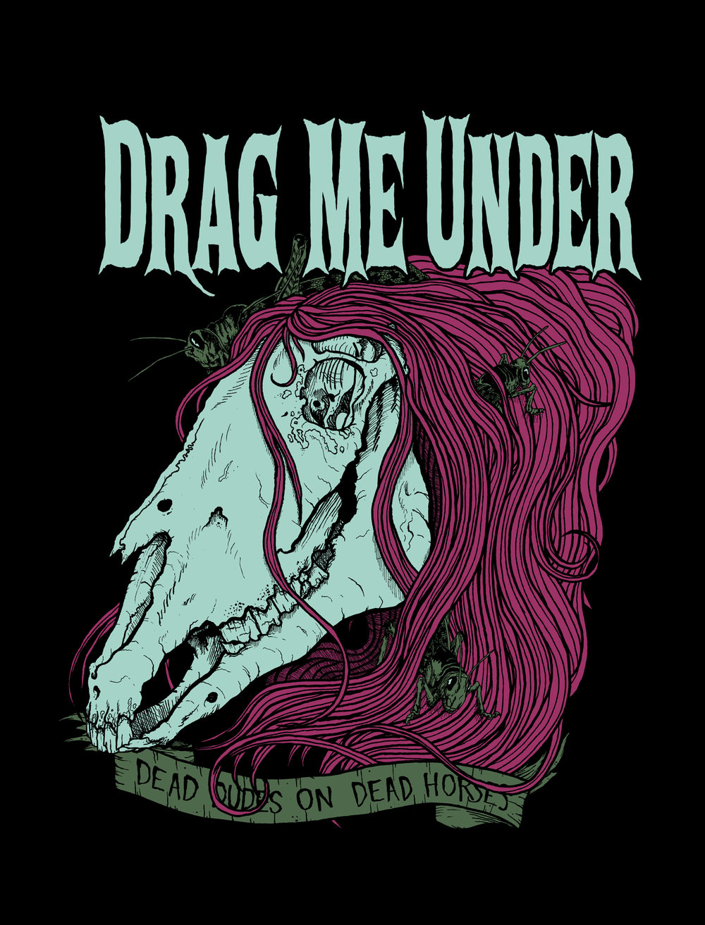 Shirt design for Drag Me Under