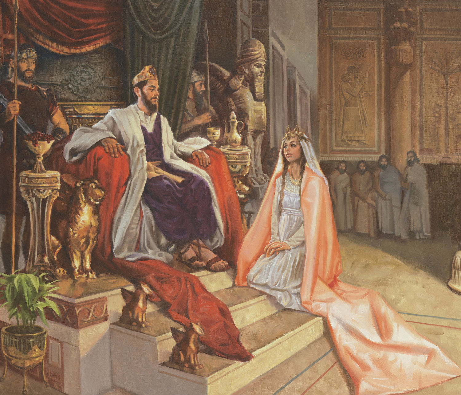 The Book of Esther at VBS — Episcopal Church of the Nativity