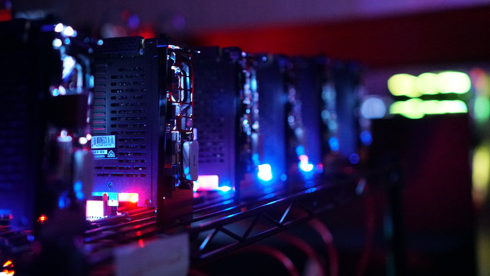 Mining graphic cards