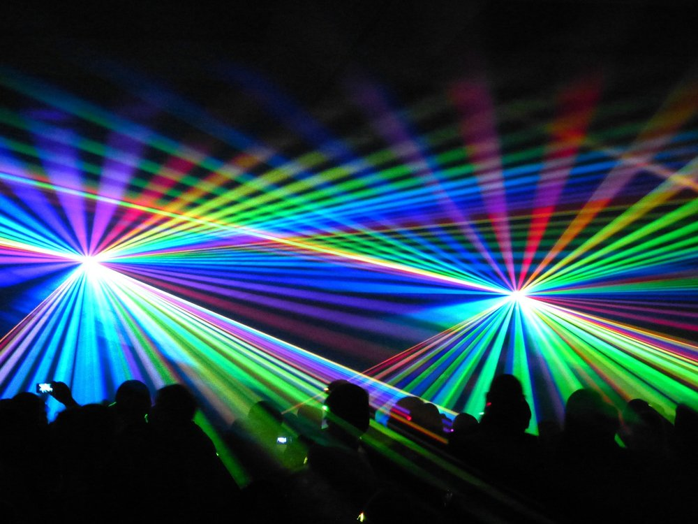 Dance Floor Lighting + Visual Effects    Who wants to dance in the dark? Nothing gets a party started like some awesome dance floor lighting. This is high-tech stuff - no cheesy disco balls! Need a fog machine? Lasers? Co2 cannon? Yup we can do all that too!