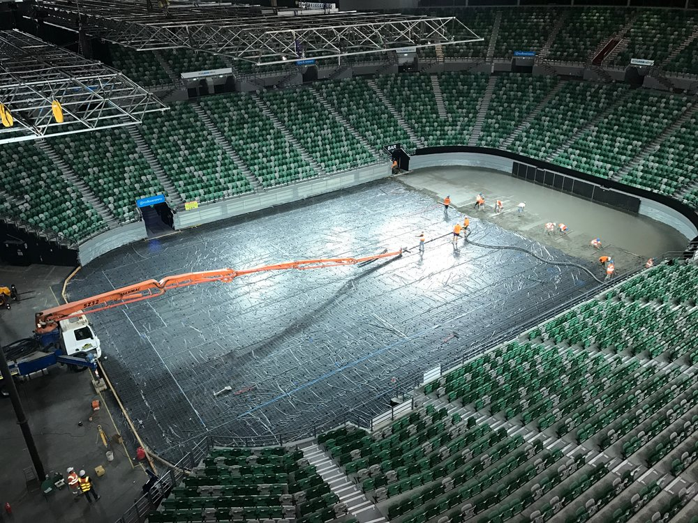 Rod laver arena redevelopment stage 1 speedpro for Door 9 rod laver arena