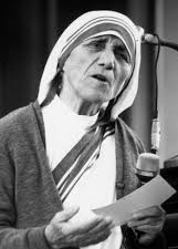 """If you can't feed a hundred people, then feed just one.""  - Mother Teresa"