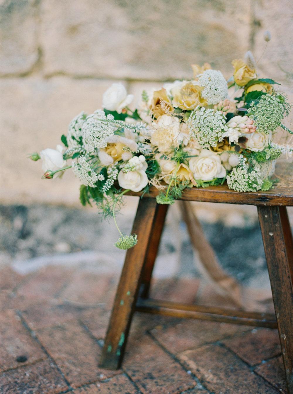 Lisa's bridal bouquet!